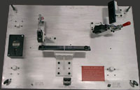 Statistical Process Control Gages, Coordinate Measuring Machine Holding Fixtures
